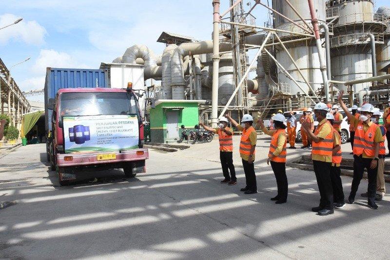 Petrokimia Gresik melakukan penjualan perdana Green Surfactant