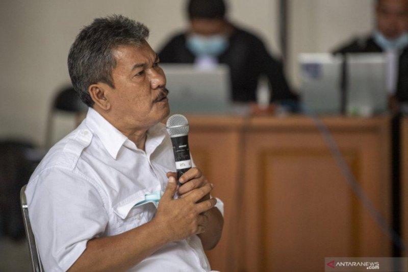 Wabup OKU nonaktif Johan Anuar divonis delapan tahun penjara