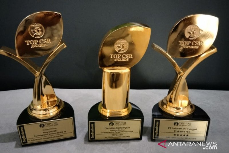 Indocement raih tiga penghargaan Top CSR Award 2021
