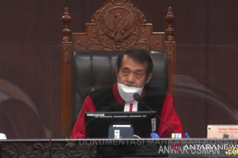 MK kabulkan sebagian gugatan Partai Garuda terhadap UU Pemilu
