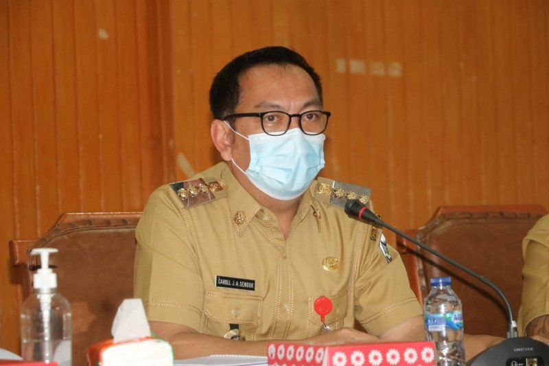 Wali Kota ajak warga Tomohon tak lalai terapkan prokes cegah COVID-19