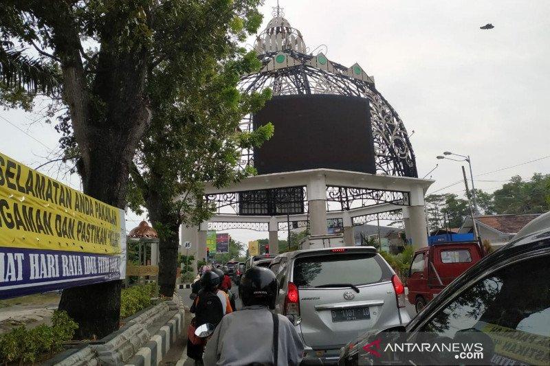 Titik keramaian di Surakarta diawasi puluhan personel Dishub