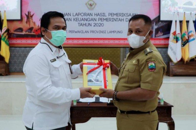 Kabupaten Lampung Selatan raih WTP lima kali berturut-turut