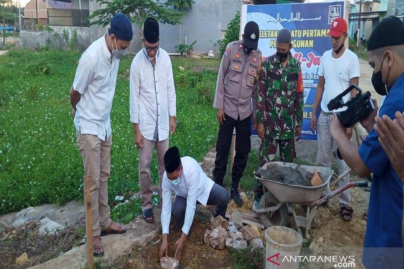 Warga perumahan Kumala Residence nantikan  pembangunan Masjid Al-Jami