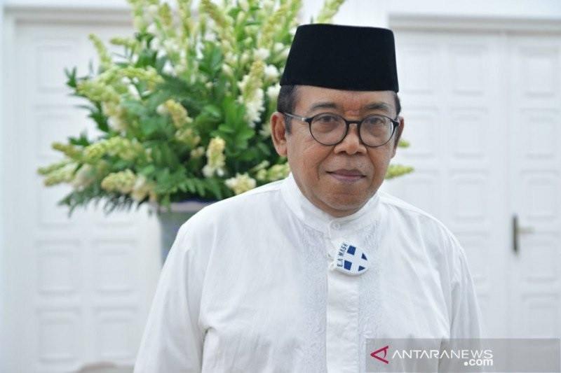 Jubir Wapres Masduki Baidlowi tanggapi larangan penggunaan masker di masjid Bekasi