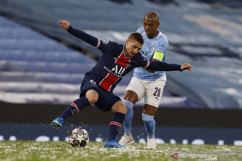 Meski kecewa, Verratti sebut City memang pantas  ke final