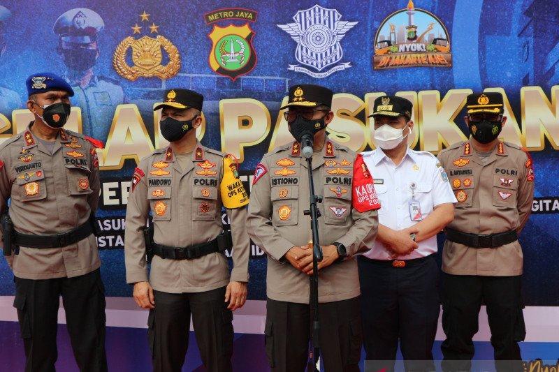 Operasi Ketupat 2021 kerahkan 155 ribu personel Polri dan TNI