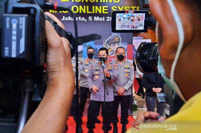 Program digital kepolisian tandai 100 hari  kinerja Kapolri