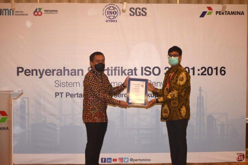 Mendapat Sertifikasi ISO 37001: 16, Pertamina menerapkan Manajemen Anti Suap di seluruh operasional