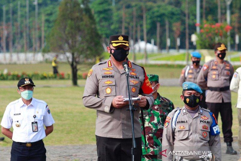 Polisi siap membubarkan pawai takbir jelang Idul Fitri