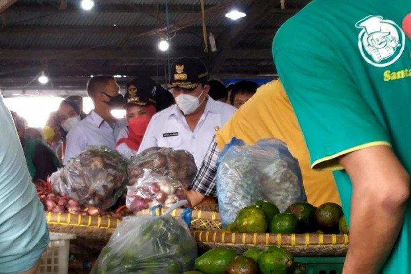 Gubernur Lampung harapkan pasar tradisional maksimalkan teknologi di masa pandemi