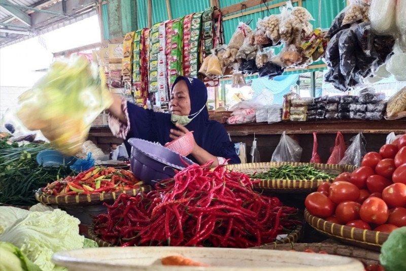Sepekan jelang Idul Fitri, harga pangan di Bandarlampung stabil