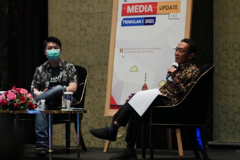 Kredit perbankan di Jawa Barat triwulan I 2021 tumbuh 5,46 persen
