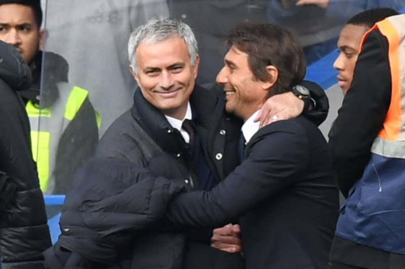 Amtonio Conte bahagia bisa kembali hadapi Jose Mourinho di Serie A