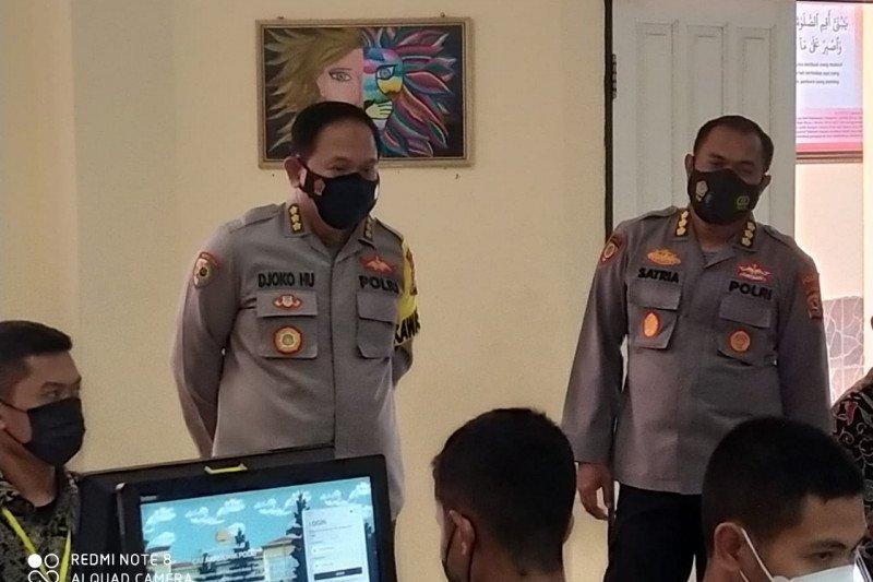 Irwasda Polda NTB awasi langsung uji akademik rekrutmen terpadu Akpol