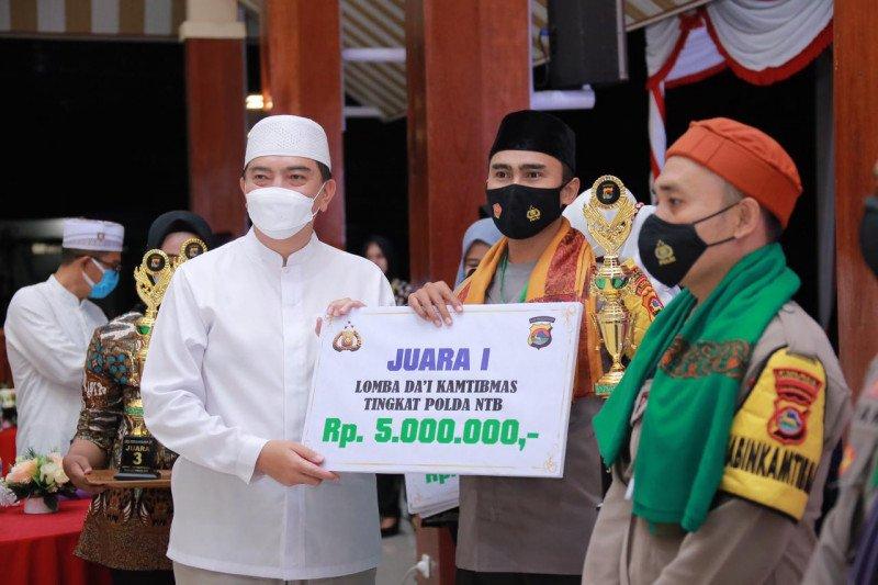 Polres Lombok Barat Juara Lomba Dai Kamtibmas Tingkat Polda NTB