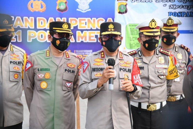 Alasan polisi berlakukan sistem buka tutup di GT Cikarang Barat