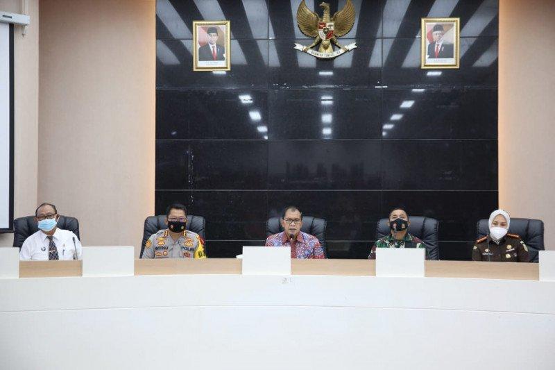 Wali Kota Makassar beserta Forkopimda bahas persiapan Shalat Idul Fitri