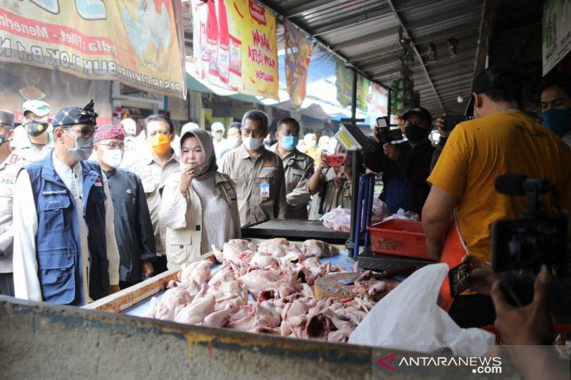 Kenaikan harga pangan di Tasikmalaya masih dalam batas wajar