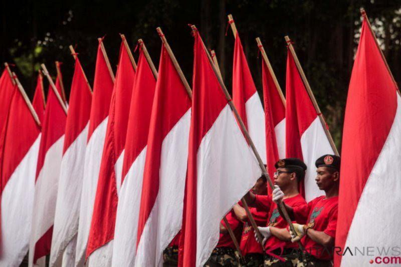 95 persen responden setuju lagu Indonesia Raya diperdengarkan di ruang publik