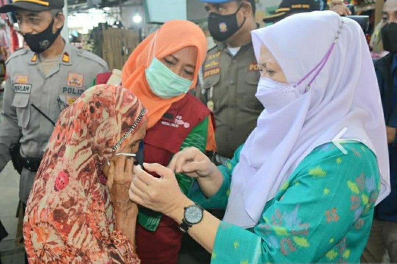 Wali Kota Palu  inspeksi kepatuhan warga terapkan prokes COVID-19