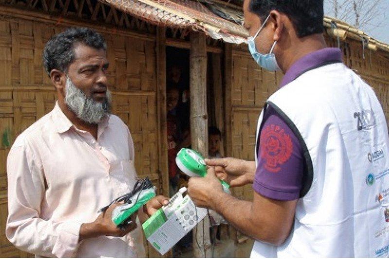 Beyond2020 memasang solusi pencahayaan di kamp pengungsi terbesar di dunia di Bangladesh