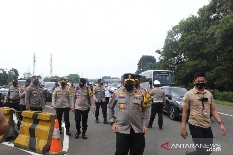 Wakpolda Jabar tinjau Operasi Ketupat Lodaya di Kota Bogor