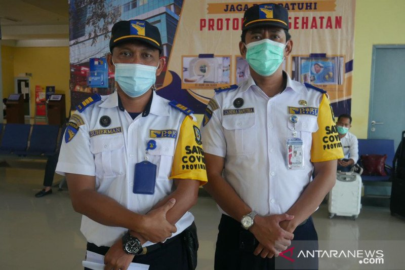 H-6 lebaran pelabuhan domestik Telaga Punggur Batam sepi