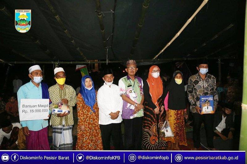 Bupati Pesisir Barat lakukan kunjungan ke Kecamatan Bengkunat
