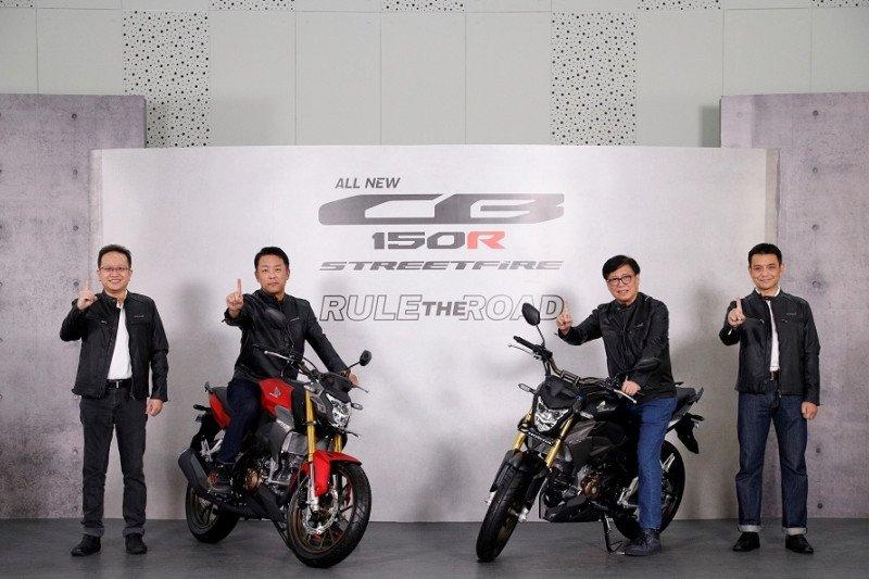 Ini dia tampilan baru Motor Naked Sport All New CB150R Streetfire yang makin gagah