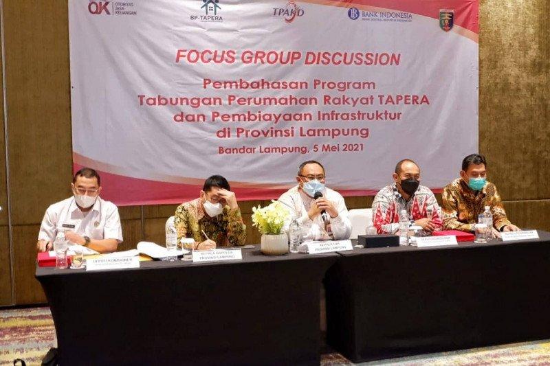 OJK siap dukung program tabungan perumahan di Lampung