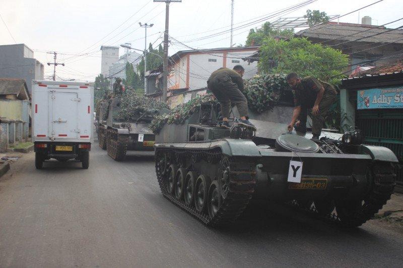 Kodam Jaya klarifikasi video viral menyebut tank halau pemudik