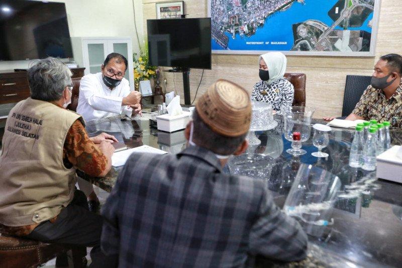 Juru sembelih temui Wali Kota Makassar bahas kehalalan sembelihan