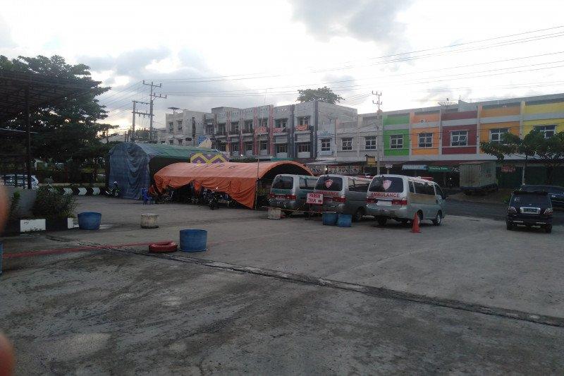 Ratusan kendaraan putar balik di perbatasan Kabupaten OKU Sumsel