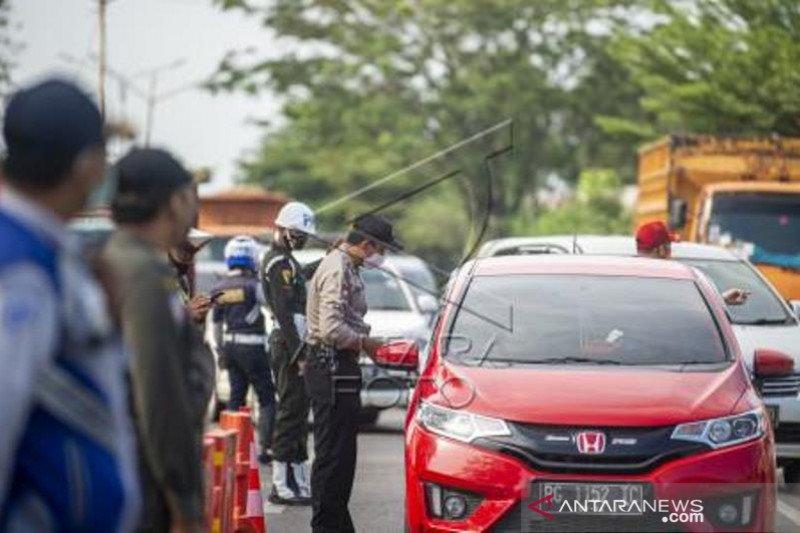 Penyekatan Pemudik Di Jalan Lintas Timur Sumatera