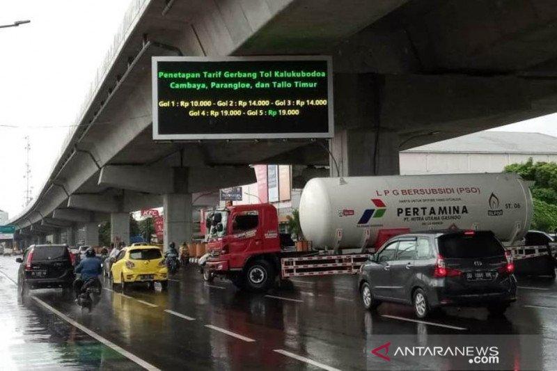 PT MMN berlakukan tarif baru tol layang Pettarani Makassar
