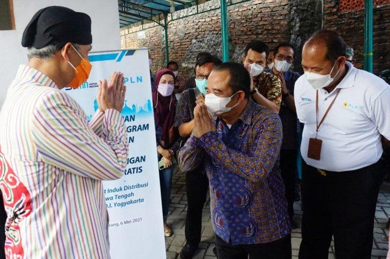 Ramadan Berbagi, PLN berikan bantuan listrik gratis di Jawa Tengah