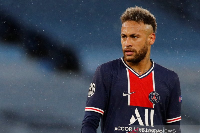 Neymar tetap di Paris Saint-Germain hingga 2025
