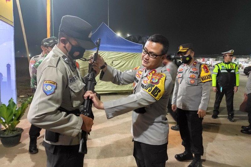 Polres Lampung Tengah siapkan 10 pos pengamanan Lebaran