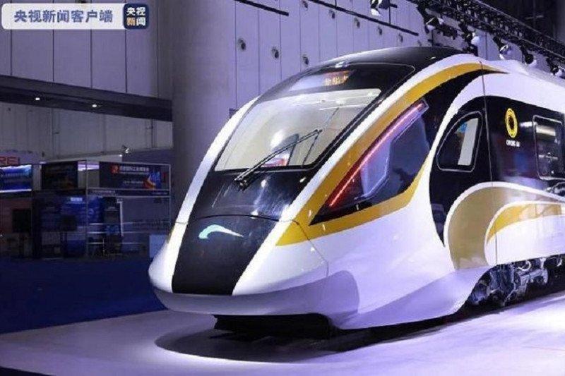 China padukan unsur modern dan klasik pada kereta cepat otomatis