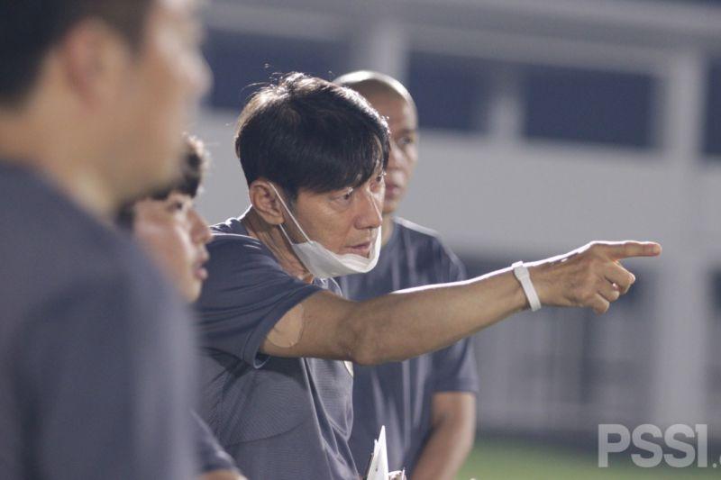 Pelatih Shin Tae-yong targetkan menang di tiga laga Kualifikasi Piala Dunia