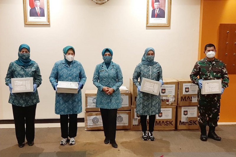 Kepri dapat bantuan 40 ribu masker dari TP PKK Pusat