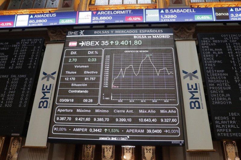 Indeks IBEX 35 Spanyol  menguat 0,86 persen