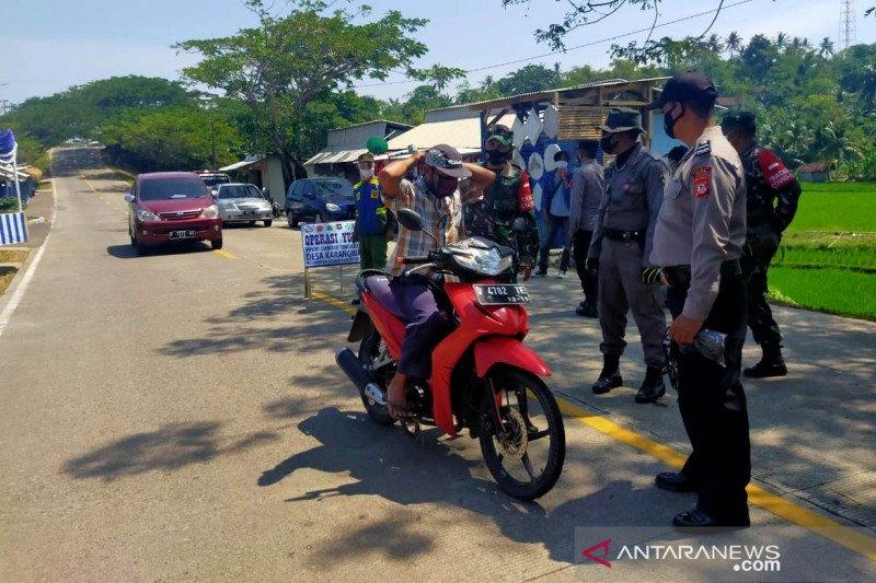 Penyekatan di jalur selatan Cianjur-Garut diperketat selama 24 jam