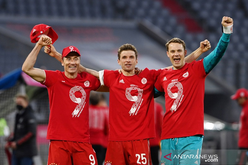 Bayern Muenchen kuasai gelar sembilan musim terakhir
