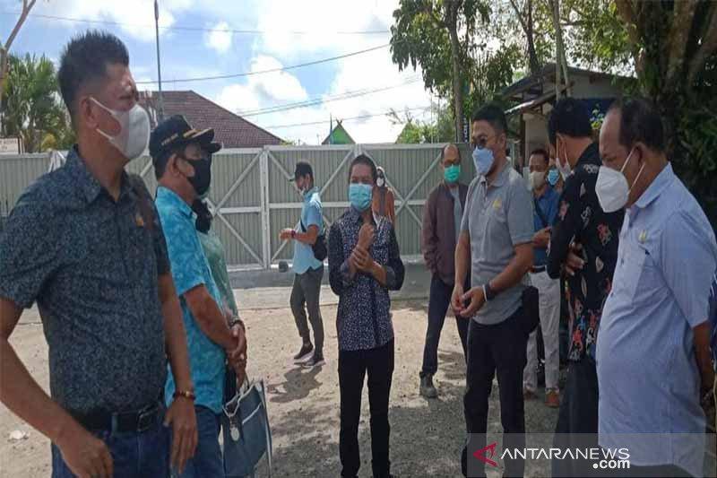 Komisi III DPRD  Kapuas pantau proyek pembangunan rujab bupati