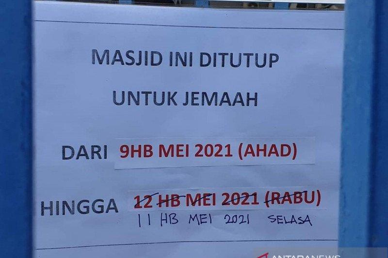 Malaysia tutup dua masjid di Kuala Lumpur beresiko tularkan COVID-19
