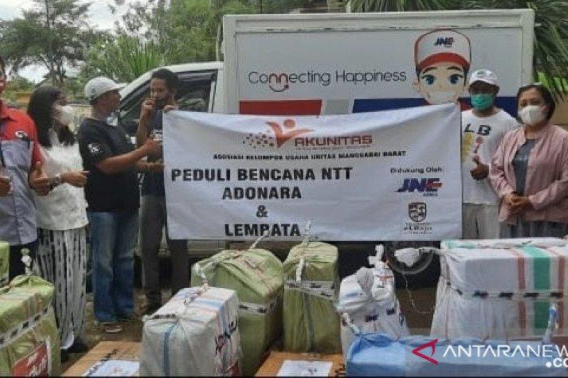 Akunitas Mabar bantu korban bencana seroja  Adonara