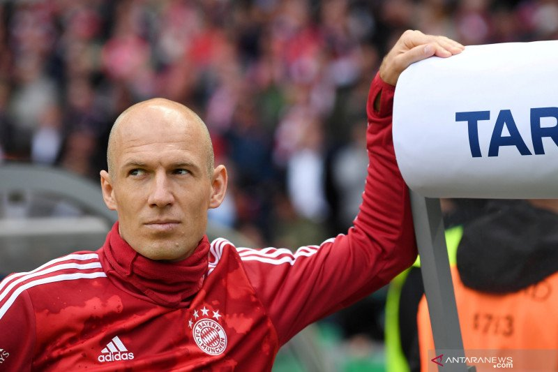 Arjen Robben bermimpi bela timnas Belanda di  Euro 2020