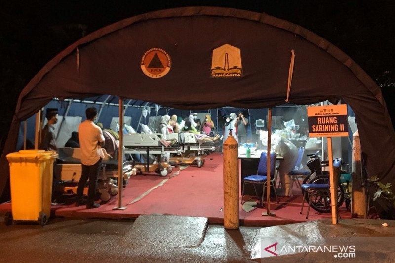 Rumah sakit rujukan COVID di Aceh nyaris penuh